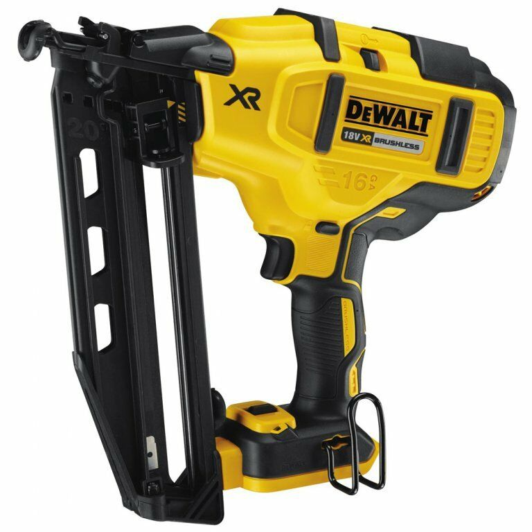 dewalt dcn660 n 18v 32 64mm cordless 16g angled nailer. Black Bedroom Furniture Sets. Home Design Ideas