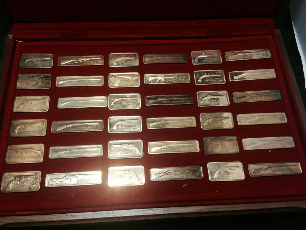 American Weapons Hall Of Fame Commemorative Ingot Series