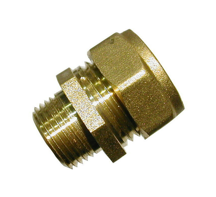 Mm compression inch bsp male adaptor coupler