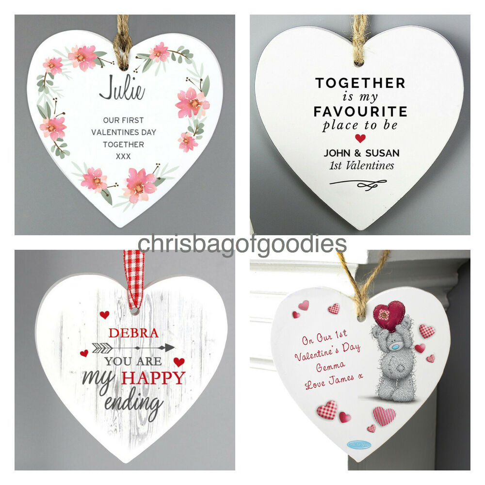 Personalised our 1st first valentines day wedding for First wedding anniversary gift for her