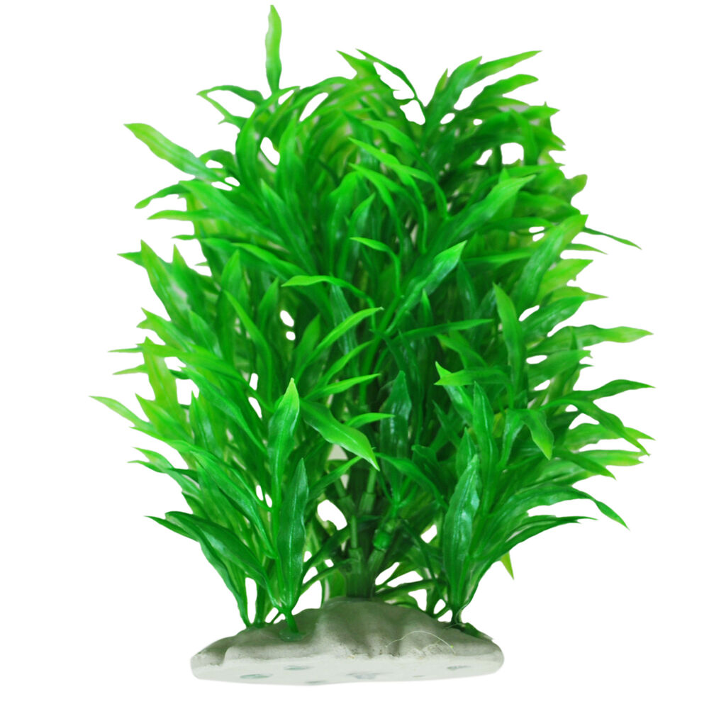 Artificial Water Plant Decoration For Fish Tank Green N Ebay