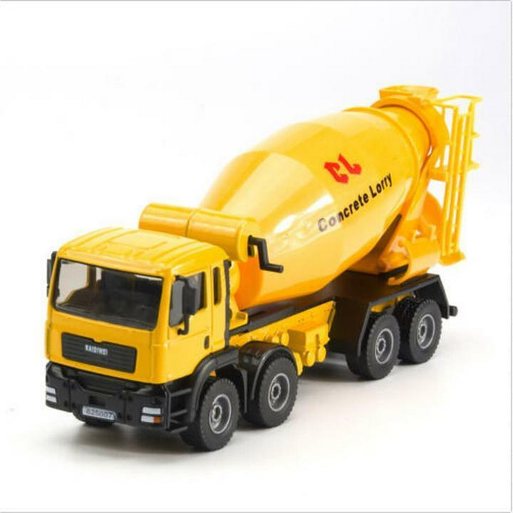 Mixer Truck Toy : Kdw scale diecast cement mixer truck construction