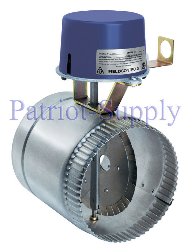 Field controls gvd pl quot automatic vent damper for v