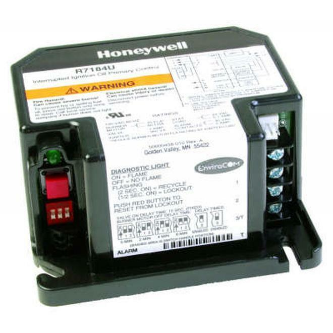 Honeywell R7184u1004 Electronic Oil Primary  15 Second