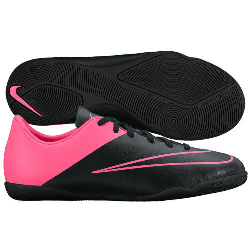 23ea08df96a30 Details about Nike Mercurial Victory IV IC Indoor Soccer Shoes 2015 Black    Pink Kids Youth Jr
