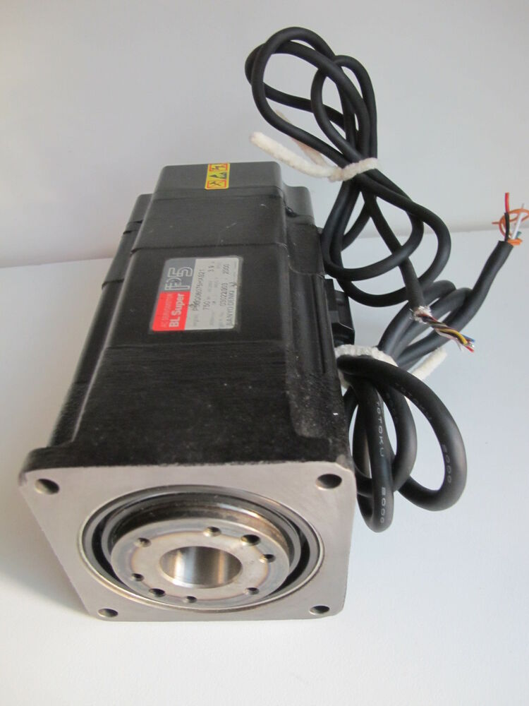 Sanyo Denki P50c08075hxs21 Hollow Shaft Servo Motor Ebay