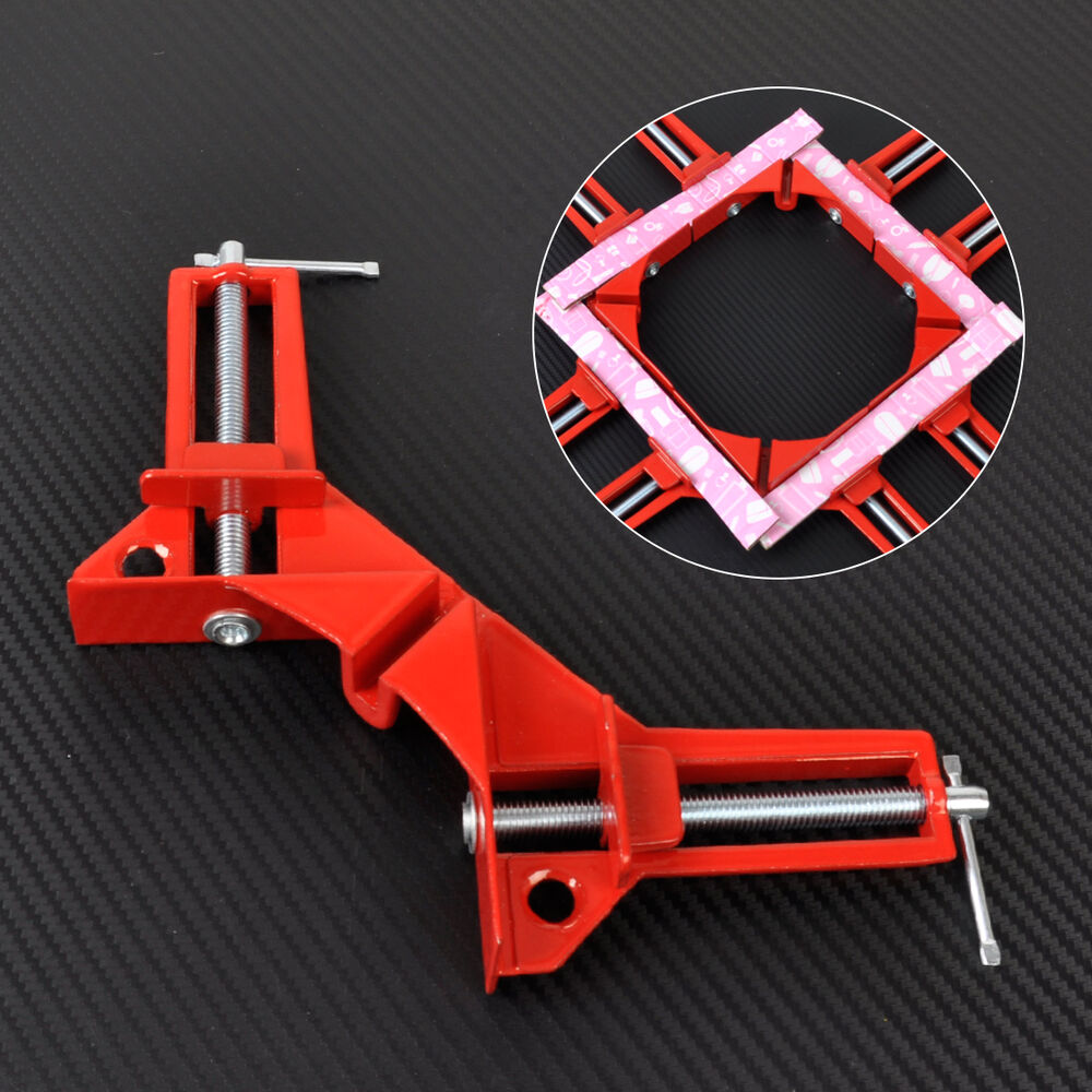 Right Angle Frame : New degree right angle corner clamp quot capacity picture
