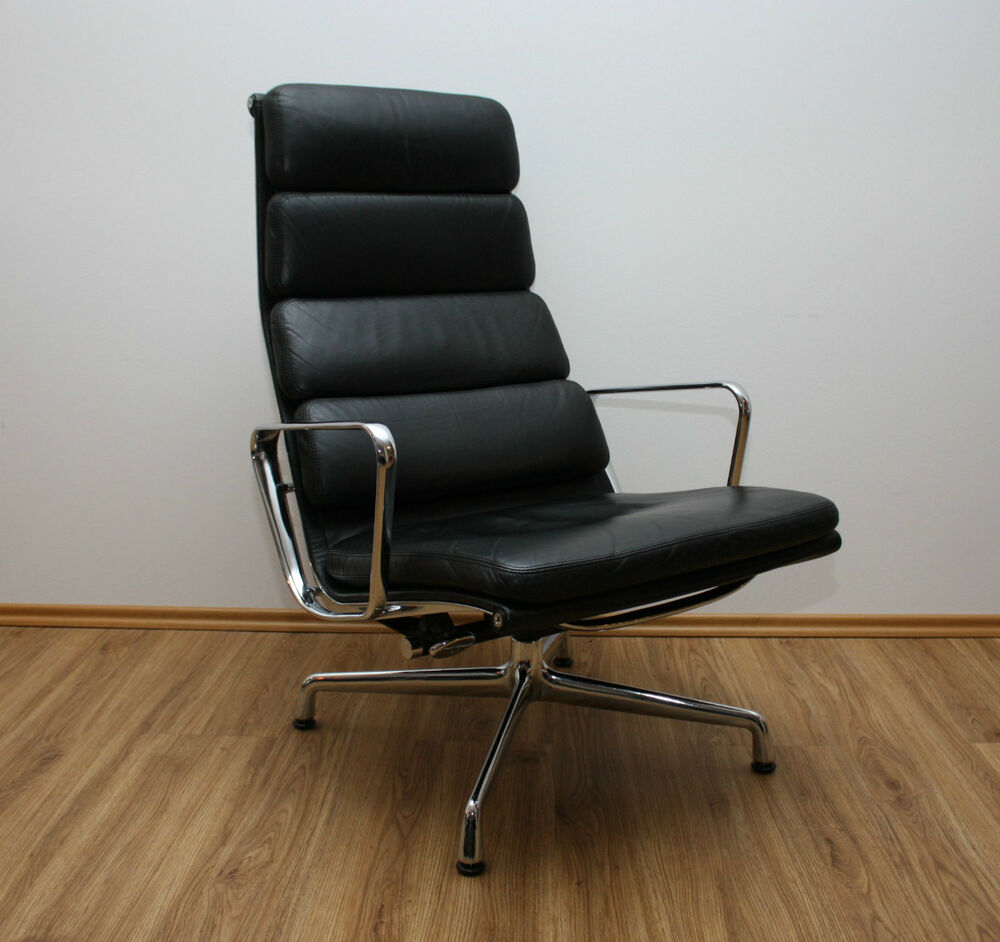 vitra ea 222 designer alu lounge chair sessel charles eames lux366 herman miller ebay. Black Bedroom Furniture Sets. Home Design Ideas
