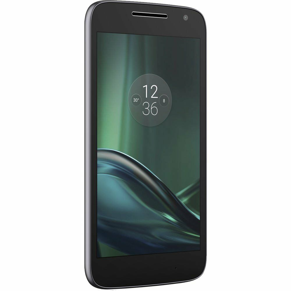 motorola moto g4 play xt1607 4g lte 16gb unlocked black used very good 8 10 ebay. Black Bedroom Furniture Sets. Home Design Ideas