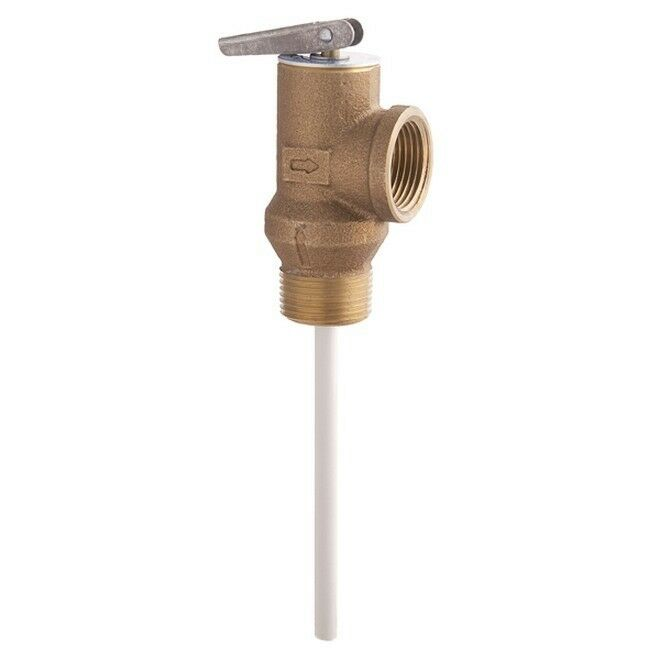 Watts 0066100 100xl 3 4 Quot Temp And Pressure T Amp P Relief
