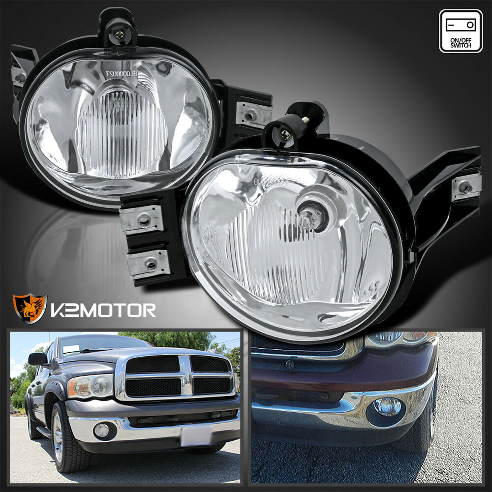 2002 2008 dodge ram 1500 2500 clear lens bumper driving. Black Bedroom Furniture Sets. Home Design Ideas