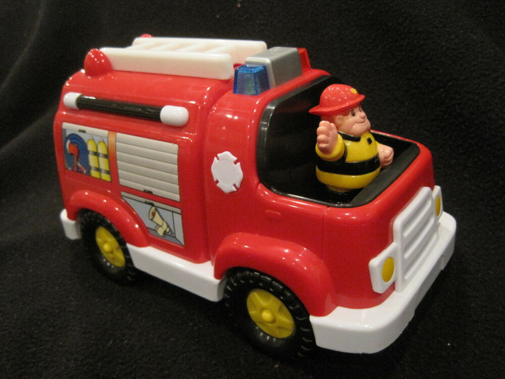 Small Fire Truck Lights And Sounds Ebay