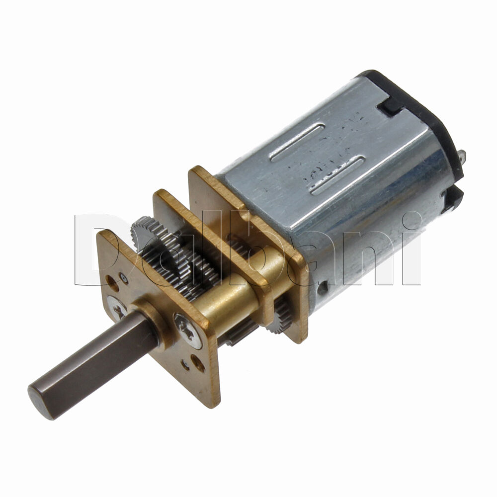 6v dc 300 rpm high torque open gearbox electric motor ebay for High torque high speed dc motor