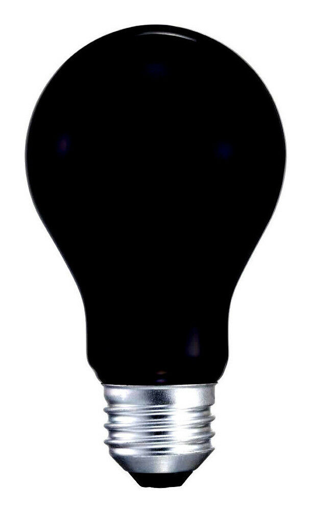 BLACK LIGHT BULBS 120V 40W Glow Halloween Party Special ...