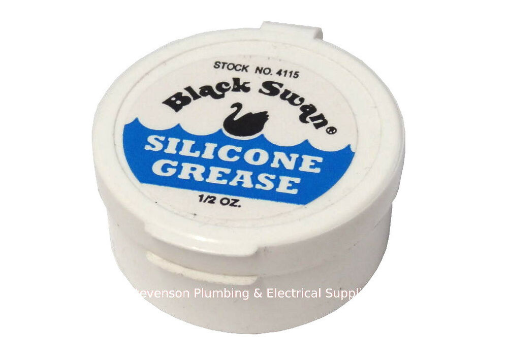 Plumbers Silicone Grease Small Tub 1 2 Oz 14g Ebay