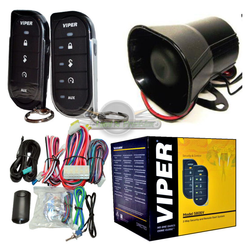 Viper 5806V 2-Way Car Alarm Security System And Remote