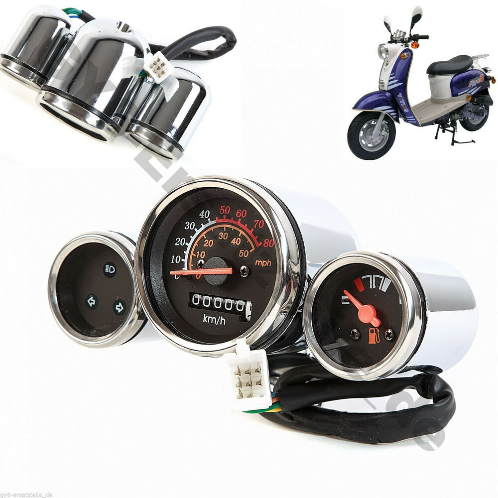 s l1000 speedometer gy6 4stroke scooter retro maddog bms roketa tank  at fashall.co