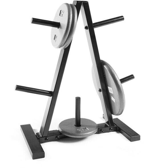 Weight Of Tree Wood: CAP Barbell Weight Plate Tree Rack Olympic Standard Holder