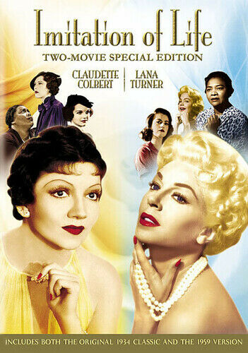 Imitation of Life (1934/1959) [Two-Movie Special Edition] [2 Dis (2012, DVD NEW)