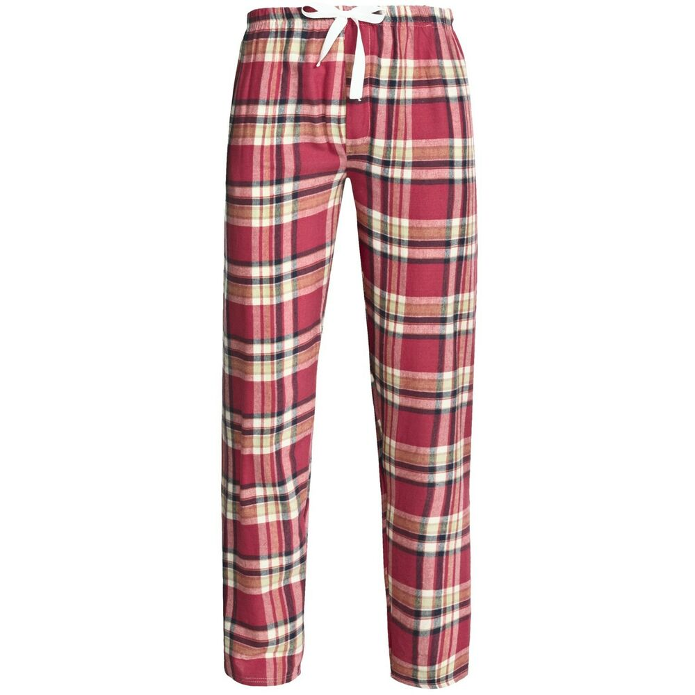 Northwest Blue Men's Flannel Lounge / Relaxing Pants ...