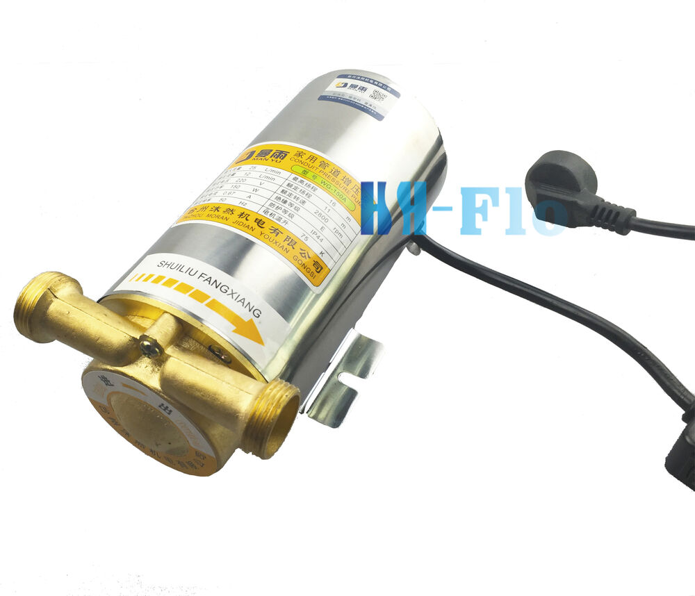 New 150w Automatic Household Stainless Steel Booster Pump