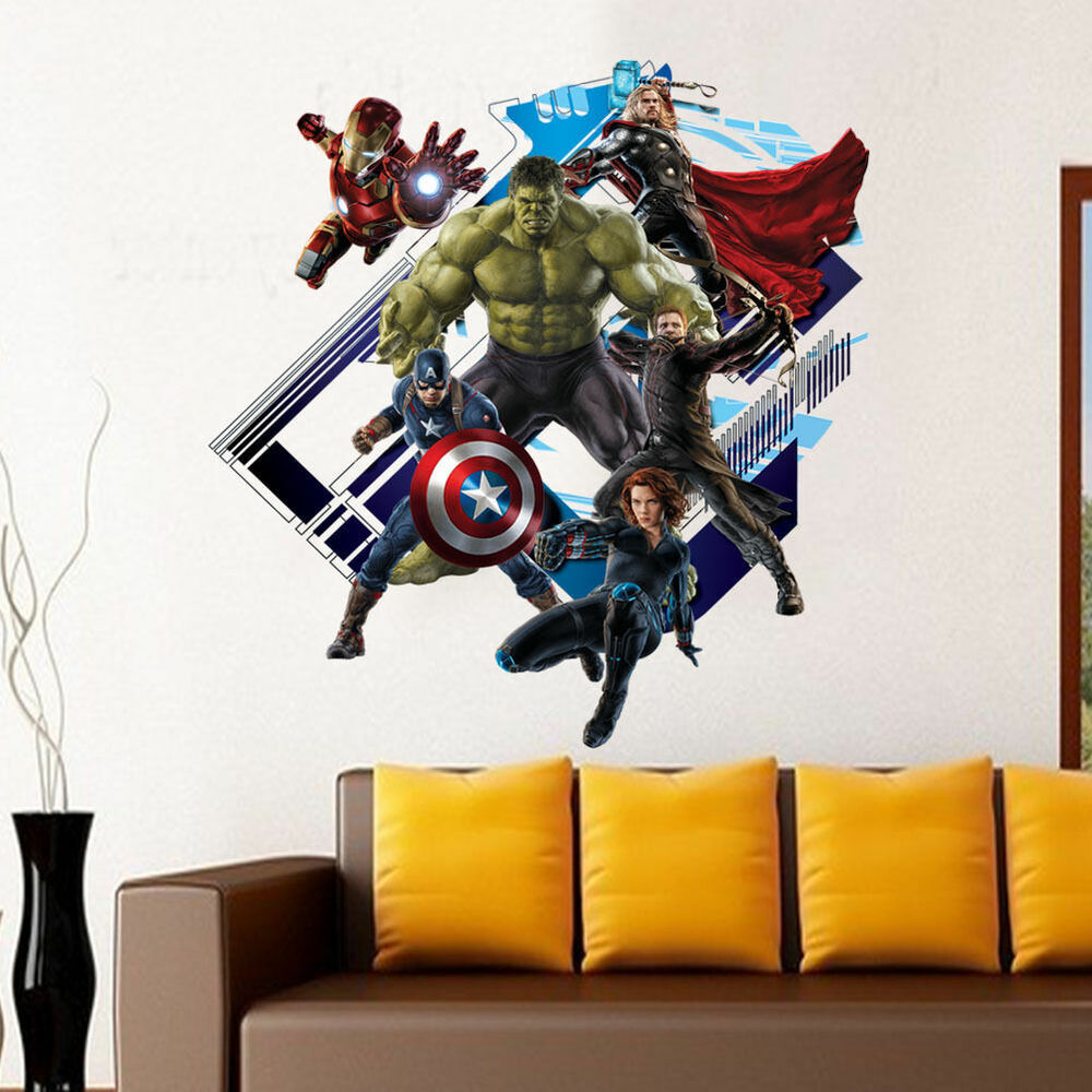 Marvel The Avenger Hulk Comics wall sticker