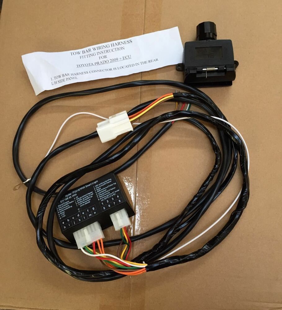 Toyota Wiring Harness Trailer : Unt towbar trailer ecu wiring harness loom for toyota