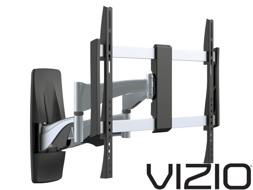 premium full motion vizio tv wall mount 37 40 42 50 55 60 65 70 inch lcd led ebay. Black Bedroom Furniture Sets. Home Design Ideas