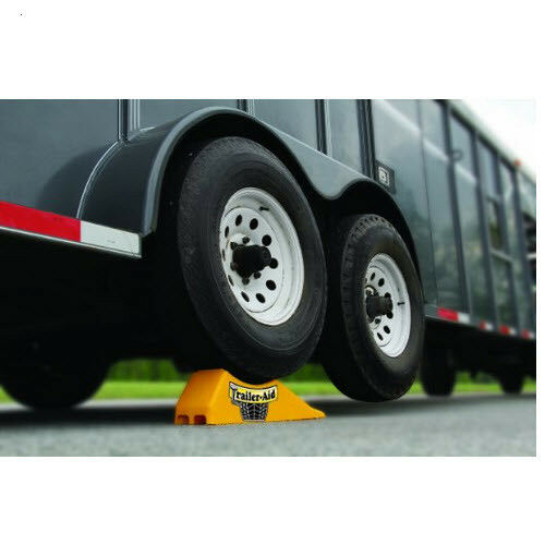 Trailer Aid Tandem Tire Changing Ramp Wheel Stands Truck
