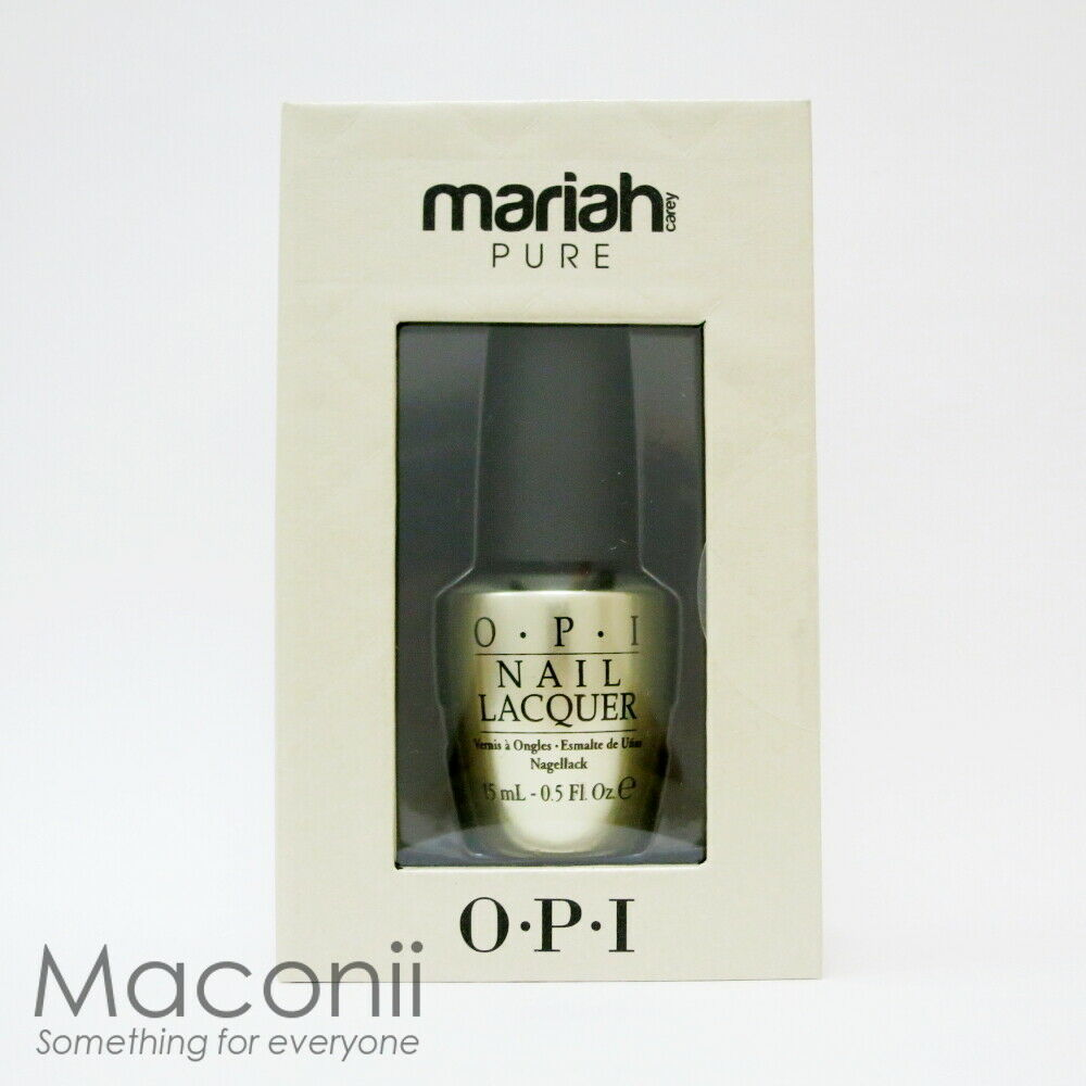 OPI - Mariah Carey Pure - 18k White Gold & Silver Top Coat Holiday ...