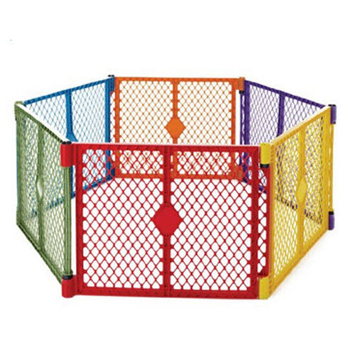 Superyard Baby Kid Child Pet Safety Play Panel Gate Yard