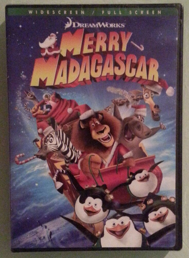 MERRY MADAGASCAR DVD NEW 97360727043 | eBay