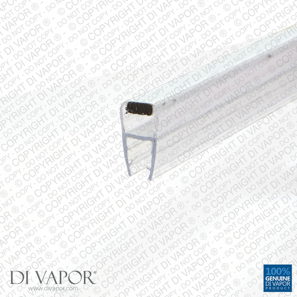 Di Vapor R Magnetic Shower Door Seal 4 6mm 8mm 10mm