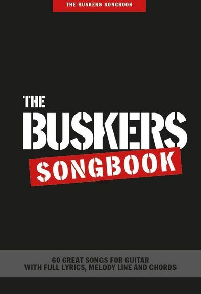 BUSKERS Songbook Play Acoustic Classics Rock POP Hits GUITAR CHORDS ...