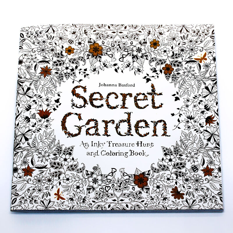Secret Garden An Inky Treasure Hunt And Coloring Book By Johanna Basford AmpPencil
