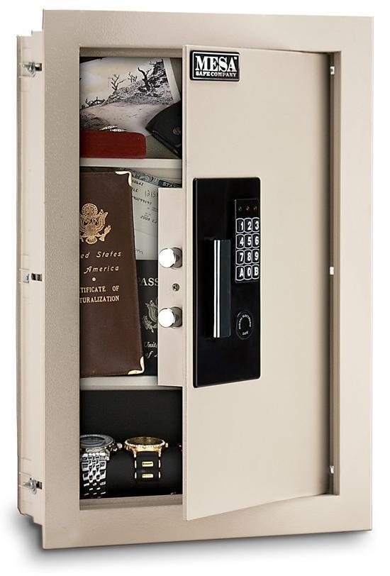 Maws2113e Mesa Hidden Home Jewelry Wall Safe Keypad Free