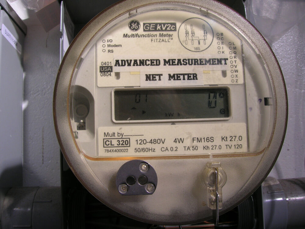 Ge Watthour Meter : Ge kv c watthour advanced measurement net meter phase