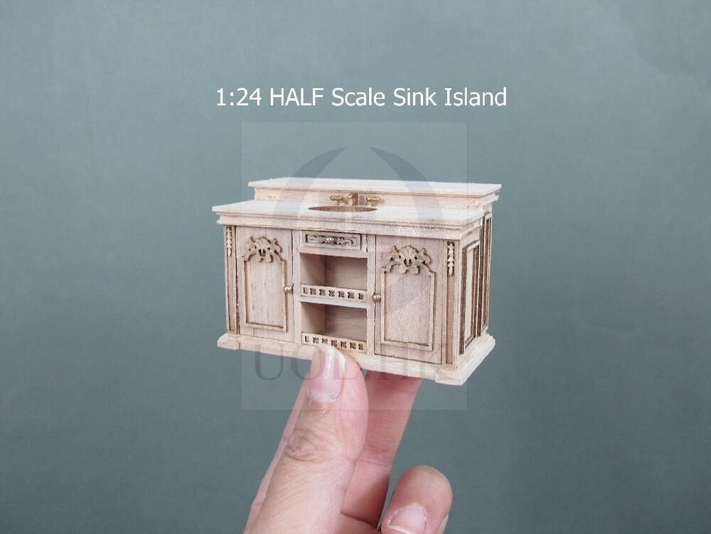 Miniature 1 24 Scale Dollhouse French Provincial Sink