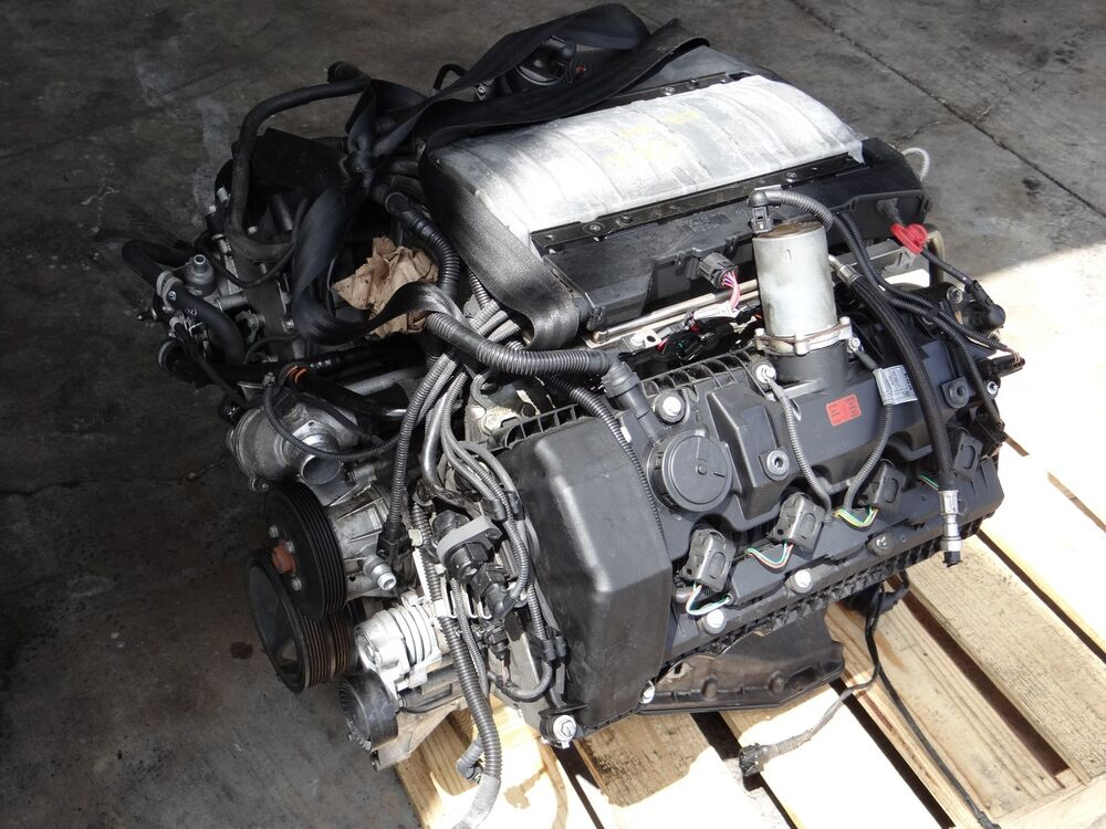 2003 Bmw 745li 4 4l V8 Engine Motor Block