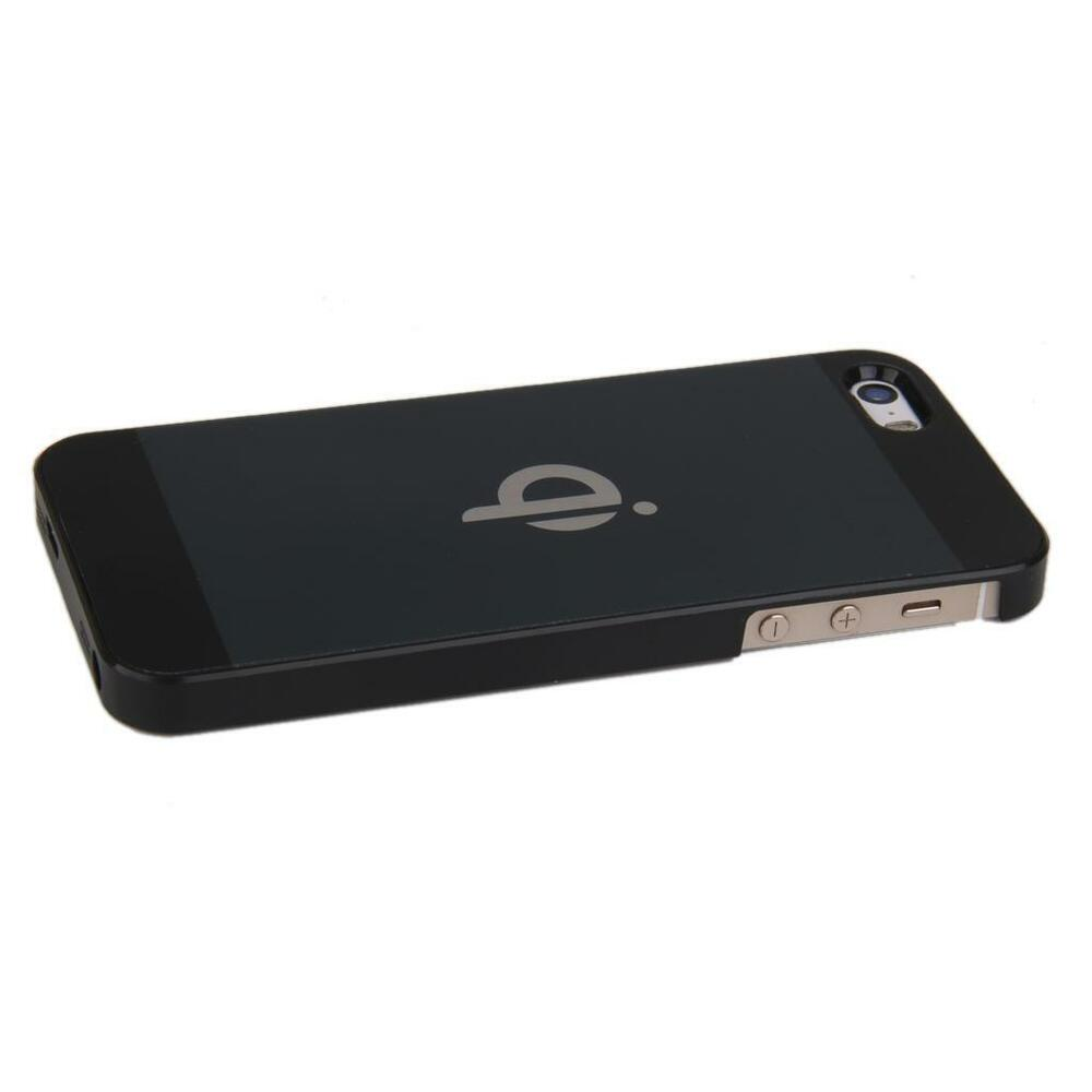 iphone 5 case charger black qi wireless charging back cover receiver pad 14492