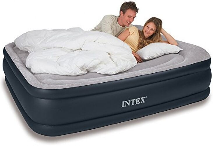 Deluxe Queen Air Mattress Bed Inflatable Blow Up Airbed ...
