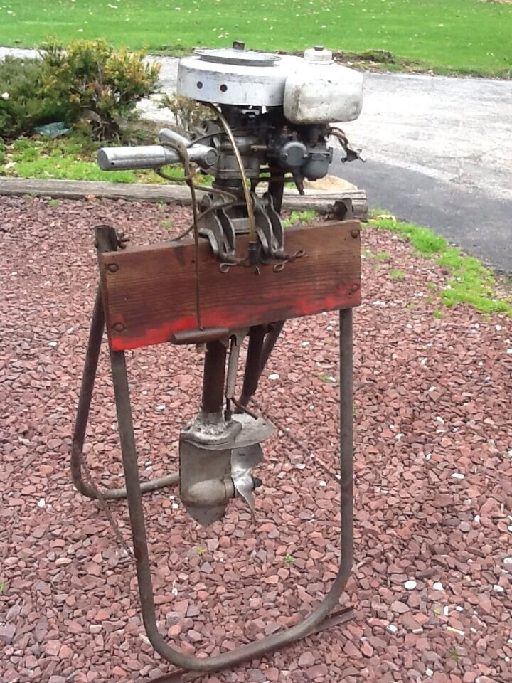 Antique sears roebuck co water witch boat motor model for Waterwitch outboard motor parts