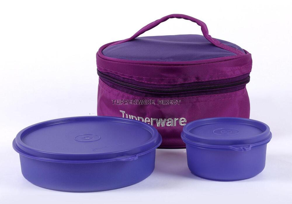 tupperware classic lunch box with insulated bag lunch. Black Bedroom Furniture Sets. Home Design Ideas