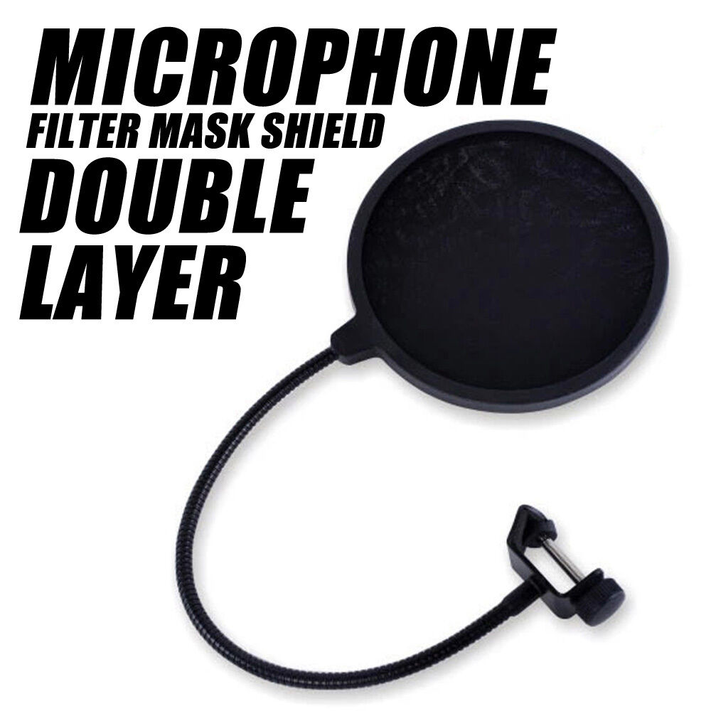 profi popschutz popkiller popfilter pop filter schutz schirm f r mikrofon studio ebay. Black Bedroom Furniture Sets. Home Design Ideas