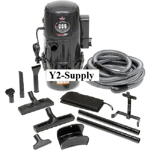 New Bissell 174 Garage Pro 174 Wet Dry Wall Mount Vacuum Ebay