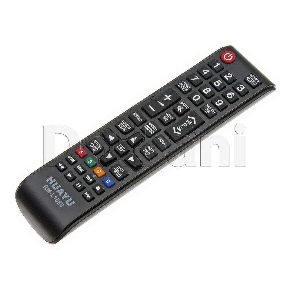 rm l1088 universal tv remote control huayu lcd tv samsung ebay. Black Bedroom Furniture Sets. Home Design Ideas