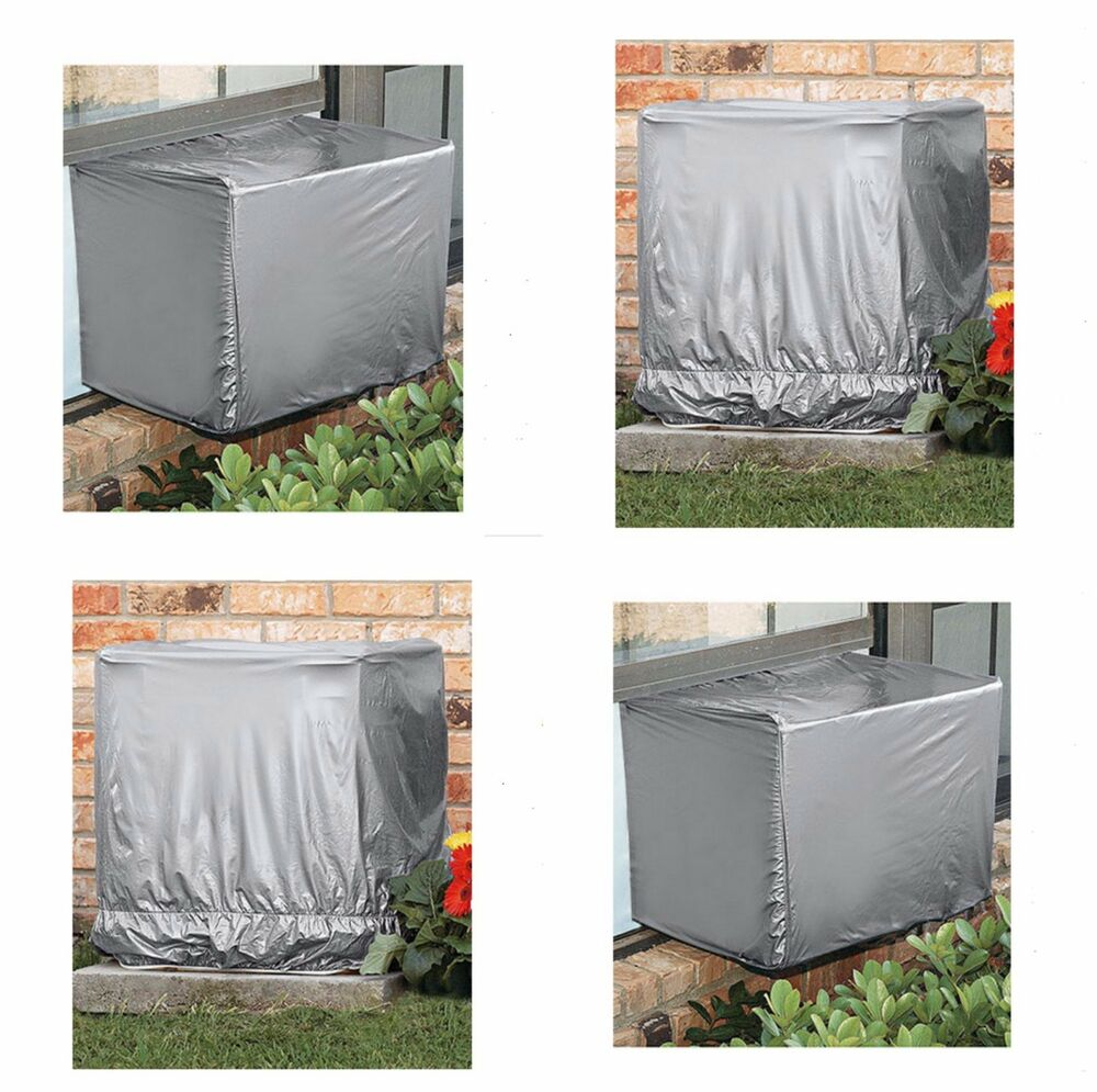 Air Conditioner Covers Outdoor Ground Unit Window Central Ac Protector Round New Ebay