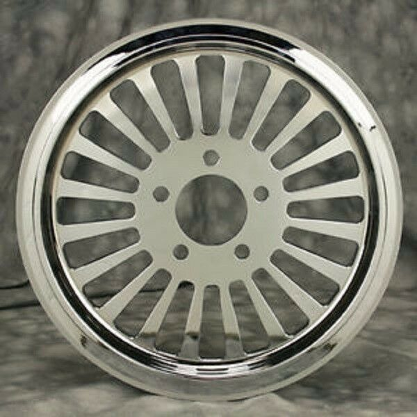 """Ebay Motors Motorcycles >> FAT SPOKE 70T TOOTH CHROME PULLEY 1.5"""" WIDE HARLEY SOFTAIL ..."""