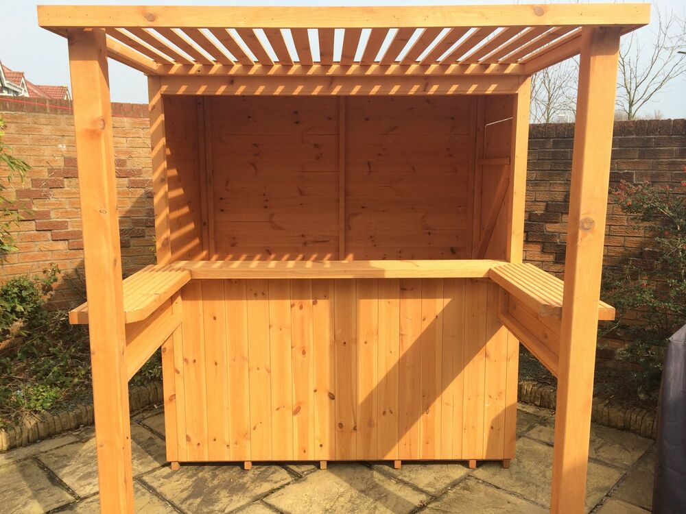 The Mini Sports Bar Garden Bar With Removable Security