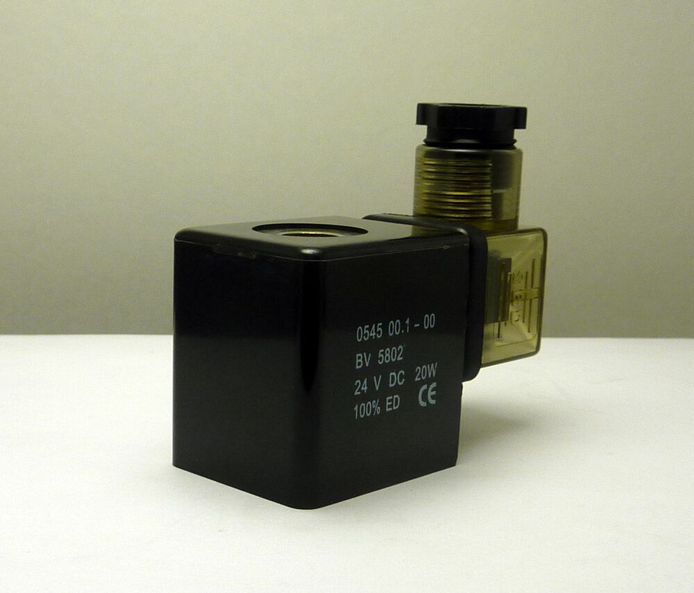Wic Valve 2w Series 24v Dc Solenoid Coil With Din